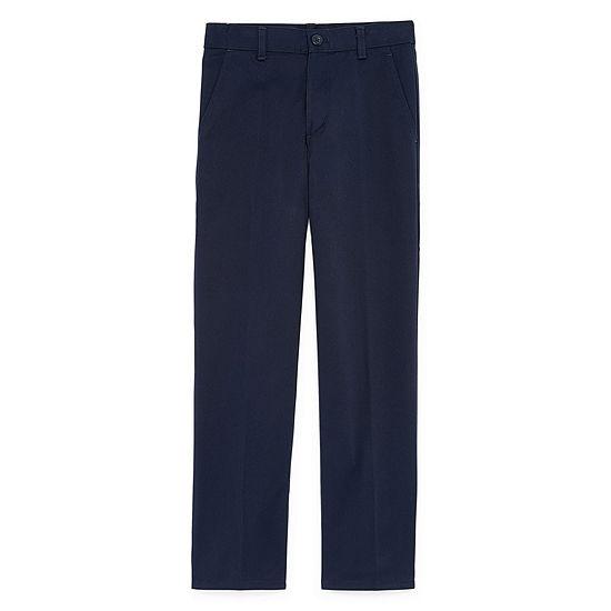 Izod Exclusive Boys Flat Front Pant - Preschool / Big Kid