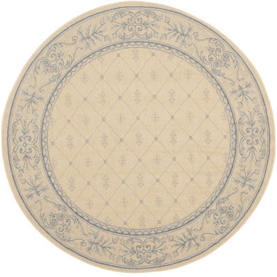 Safavieh Oakley Oriental Round Indoor/Outdoor Rugs