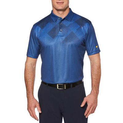 Jack Nicklaus Easy Care Short Sleeve Argyle Polo Shirt
