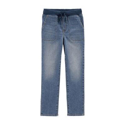 Carter's Pull-On Denim Pants - Boys