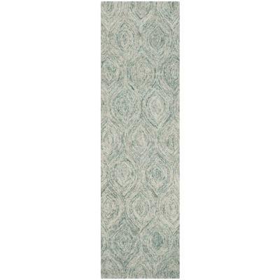 Safavieh Ikat Collection Cheshunt Geometric RunnerRug