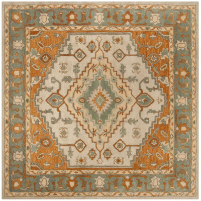 Safavieh Heritage Collection Faris Oriental SquareArea Rug
