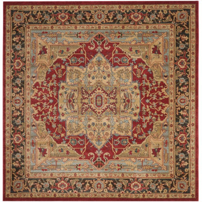 Safavieh Mahal Collection Alfonso Oriental SquareArea Rug