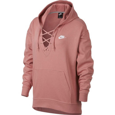 Nike Women's Club Lace Up Sweatshirt