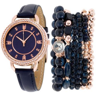 Womens Blue Bracelet Watch-St2159rg689-007