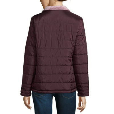 Free Country Midweight Reversible Puffer Jacket-Petite