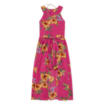Knit Works Sleeveless Skater Dress Girls