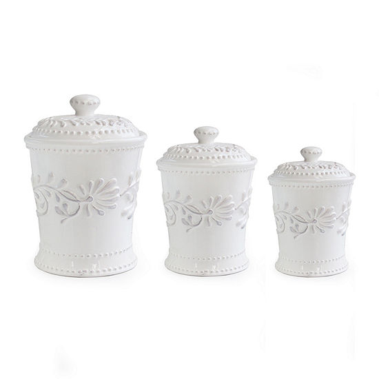 Style Setter 3-pc. Canister