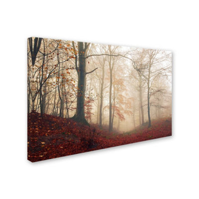 Trademark Fine Art Leif Londal Waiting For The Deer Giclee Canvas Art
