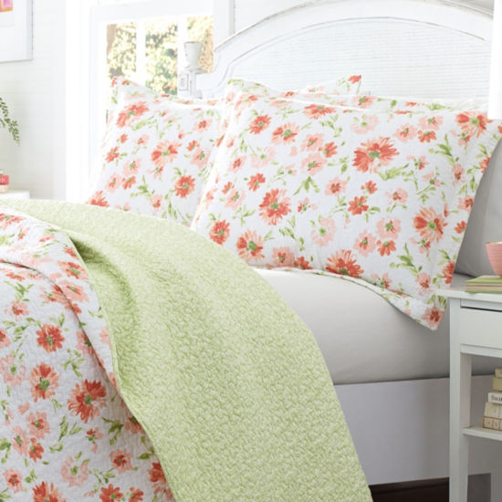Laura Ashley Meadow Dance Quilt Set