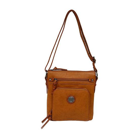 St. John's Bay Textured Convertible Crossbody Bag