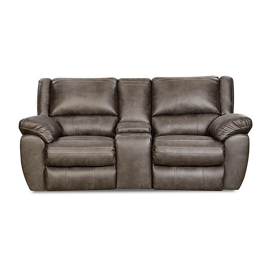 Simmons Upholstery® Roosevelt Power Reclining Loveseat