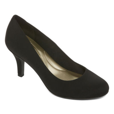 east 5th Edita Womens Pumps Slip-on Round Toe Stiletto Heel