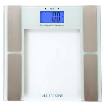 Bluestone Digital Body Fat Scale with Tempered Glass Platform