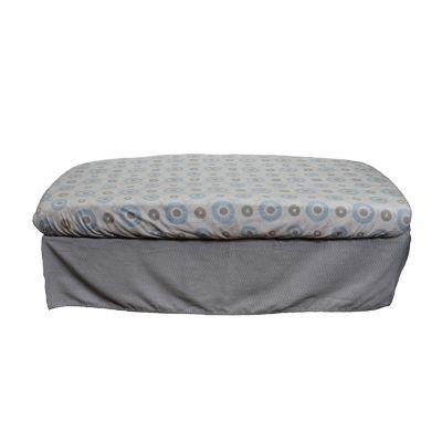 Nurture Basix Gray Chevron 2 Piece Crib Bedding Starter Set