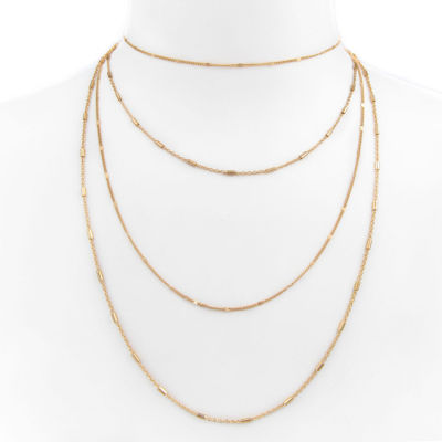 Arizona Womens 24 Inch Link Necklace