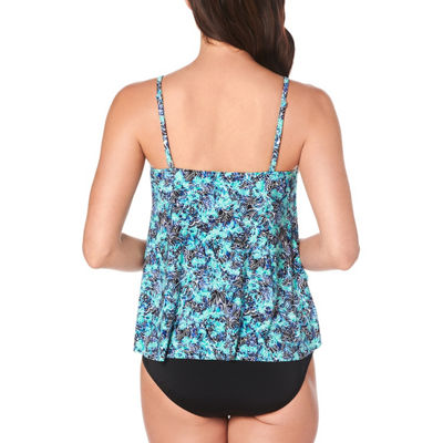 St. John's Bay Tankini Swimsuit Top