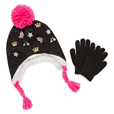 Capelli of N.Y. Cold Weather Set-Big Kid Girls