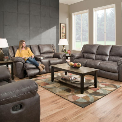 Simmons Beautyrest® Roosevelt Power Reclining Sofa