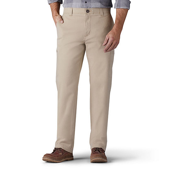 Lee Performance Series Mens Straight Fit Flat Front Pant