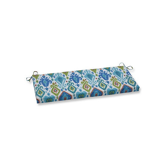 Pillow Perfect Paso Caribe Patio Bench Cushion