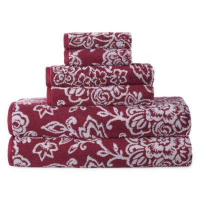 Liz Claiborne Jacobean 6-Pc Towel Set