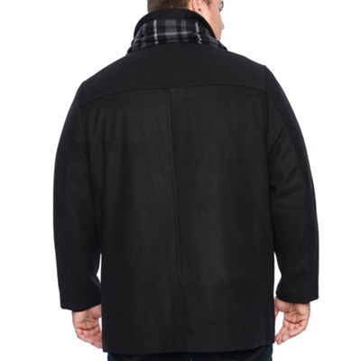 Dockers Wool Pea Coat Big and Tall