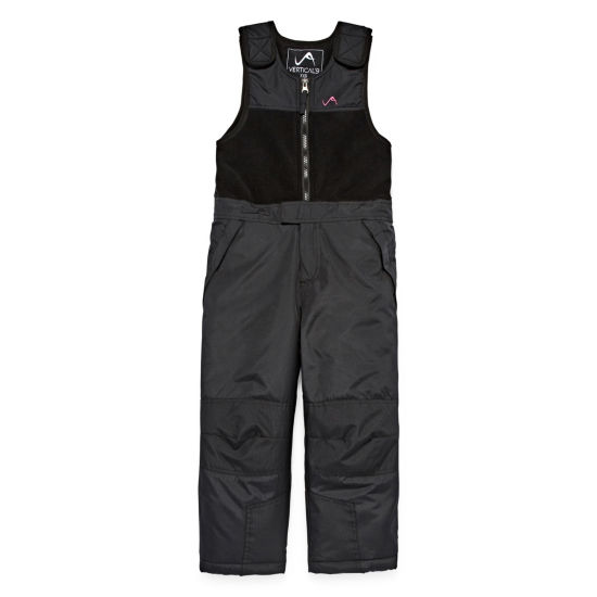 Vertical 9 Heavyweight Snow Bibs-Big Kid Girls
