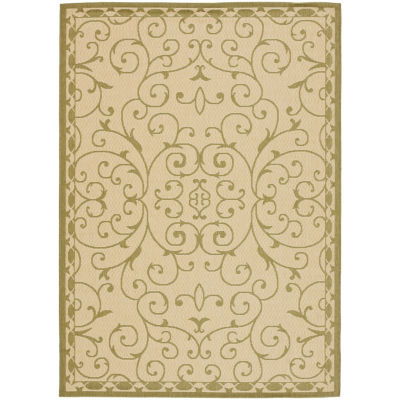 Safavieh Courtyard Collection Kodey Oriental Indoor/Outdoor Area Rug