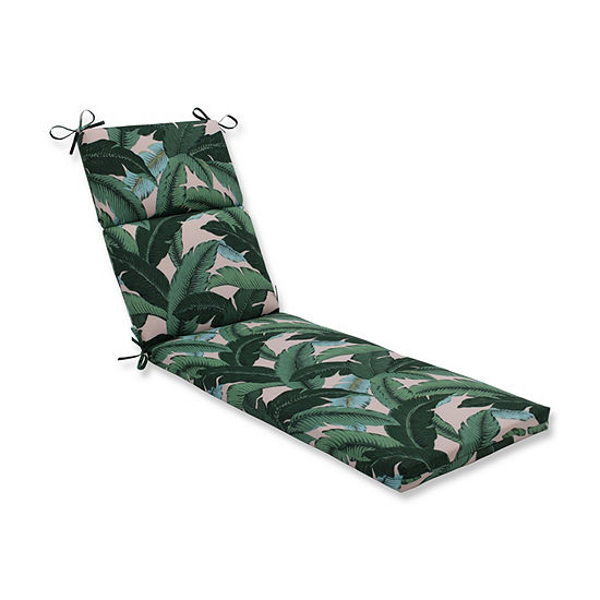 Pillow Perfect Swaying Palms Capri Patio Chaise Lounge Cushion