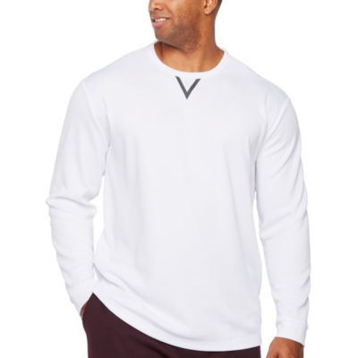 Msx By Michael Strahan Long Sleeve Crew Neck T-Shirt-Big and Tall