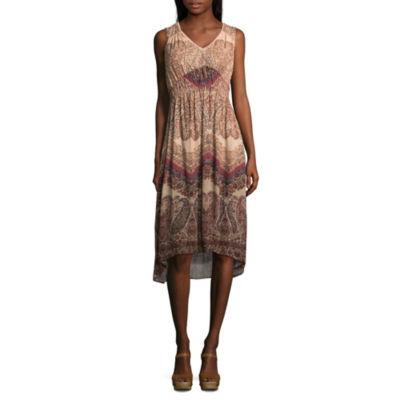 Artesia Sleeveless Empire Waist Dress