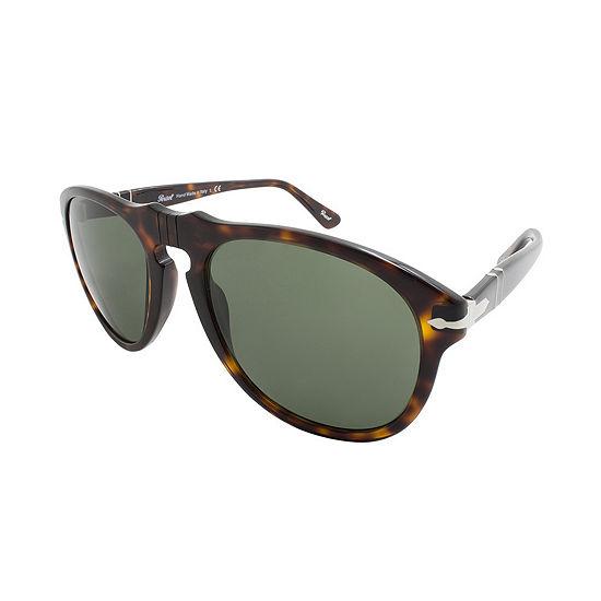Persol Sunglasses Po0649 / Frame: Tortoise Lens: Gray