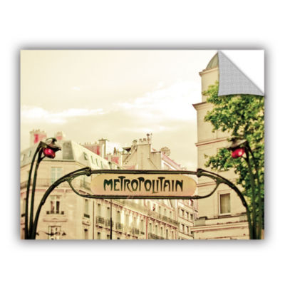 Brushstone A Lily In Paris Removable Wall Decal