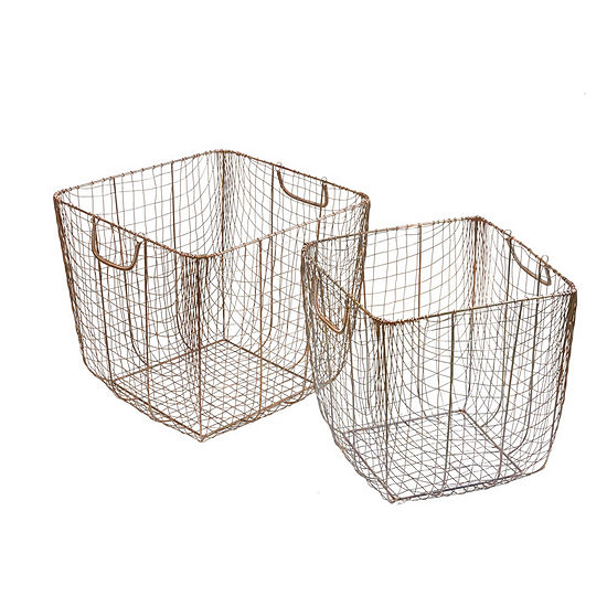 Madison Park Moraga Basket Set Of 2