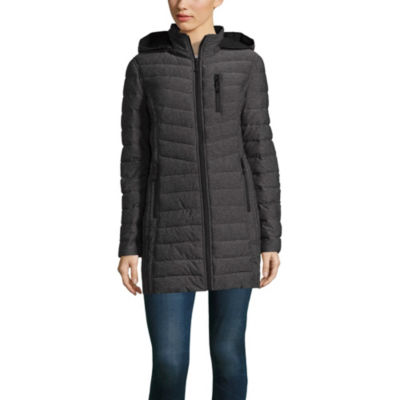 a.n.a Quilted Heavyweight Puffer Jacket