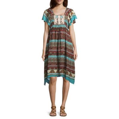 Artesia Flutter Sleeve Dress