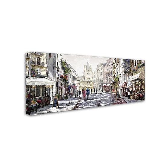 Trademark Fine Art The Macneil Studio Sunlit Street Giclee Canvas Art