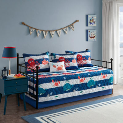 Mi Zone Kids Under The Sea Brushed 6-pc. Daybed Cover Set