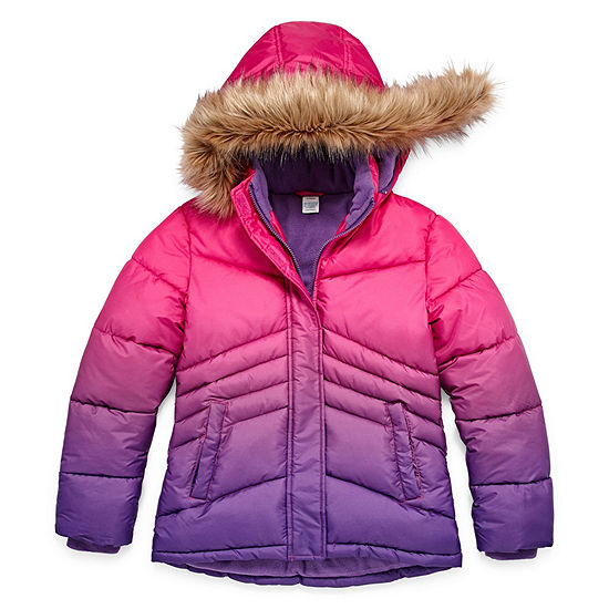 ccd35e2a8 Arizona Heavyweight Puffer Jacket - Girls 4-16 & Plus - JCPenney