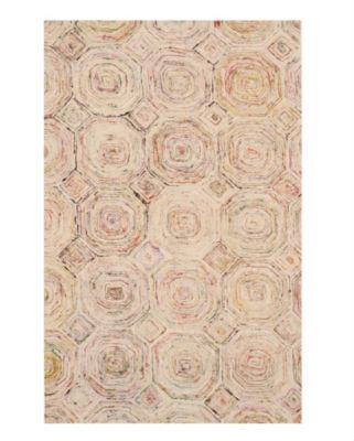 Handmade Viscose Contemporary Geometric Carla Rug
