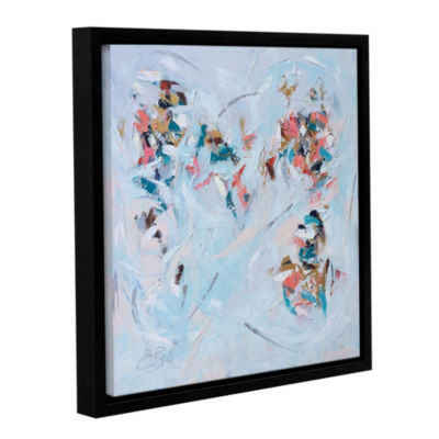 Abstract Entwined Floater-Framed Gallery Wrapped Canvas