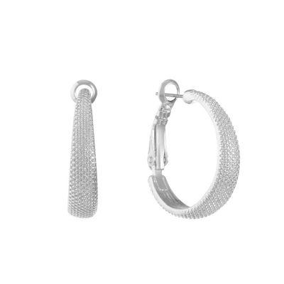 Liz Claiborne 25mm Hoop Earrings