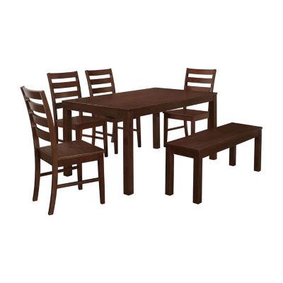 Homestead 6-pc. Wood Dining Set