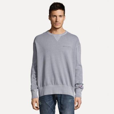 Champion Mens Crew Neck Long Sleeve Sweatshirt