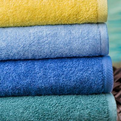 "Splash Lt. Blue Stripe 30""x60"" Pool Towel 24-pk."