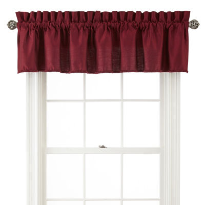 JCPenney Home Supreme Rod-Pocket Insert Valance
