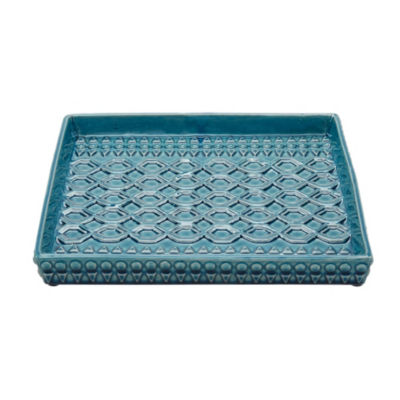 Madison Park Murray Ceramic Plate
