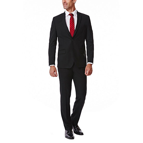JM Haggar 4-Way Stretch Solid Slim Fit Suit Separates
