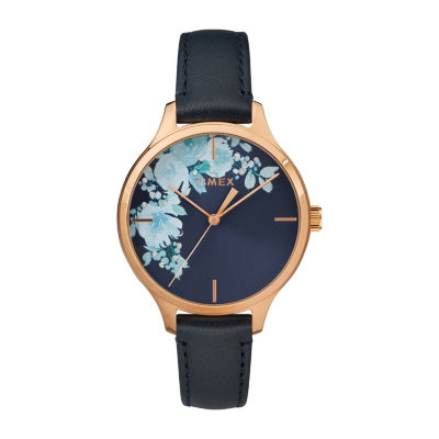 Timex Womens Blue Strap Watch-Tw2r66700jt